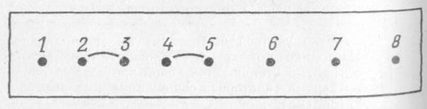 Схема дляпроверки правильности выстукивания ритма